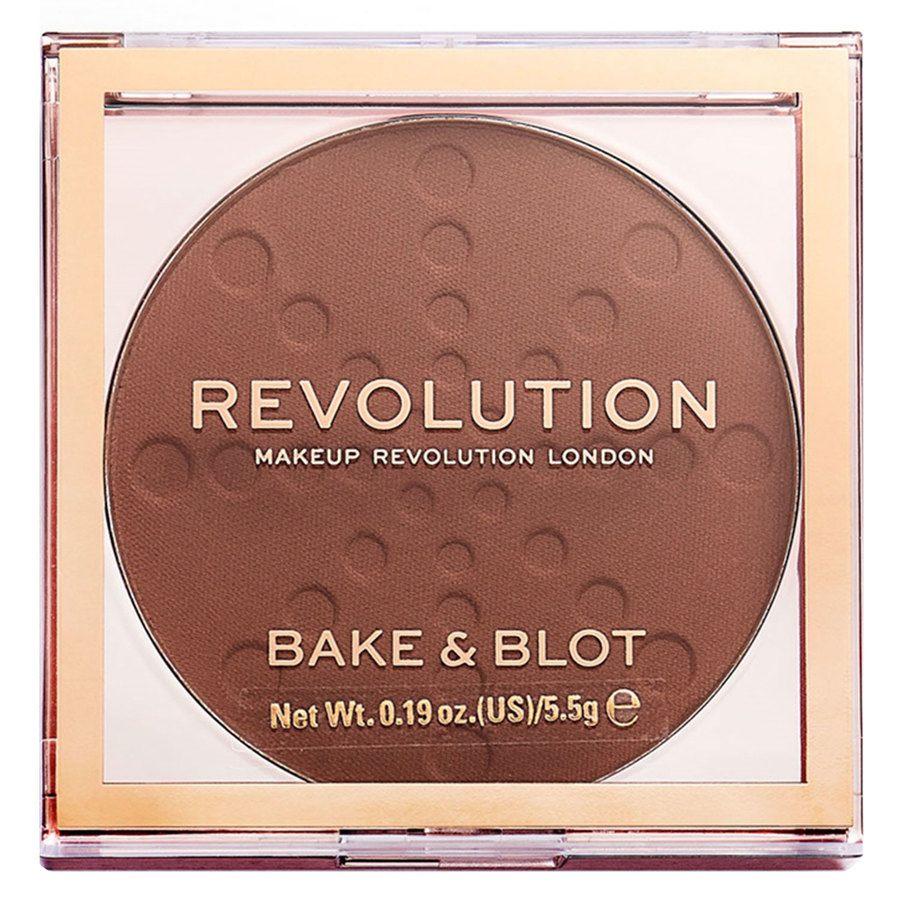 Makeup Revolution Bake And Blot, Deep Dark (5,5 g)