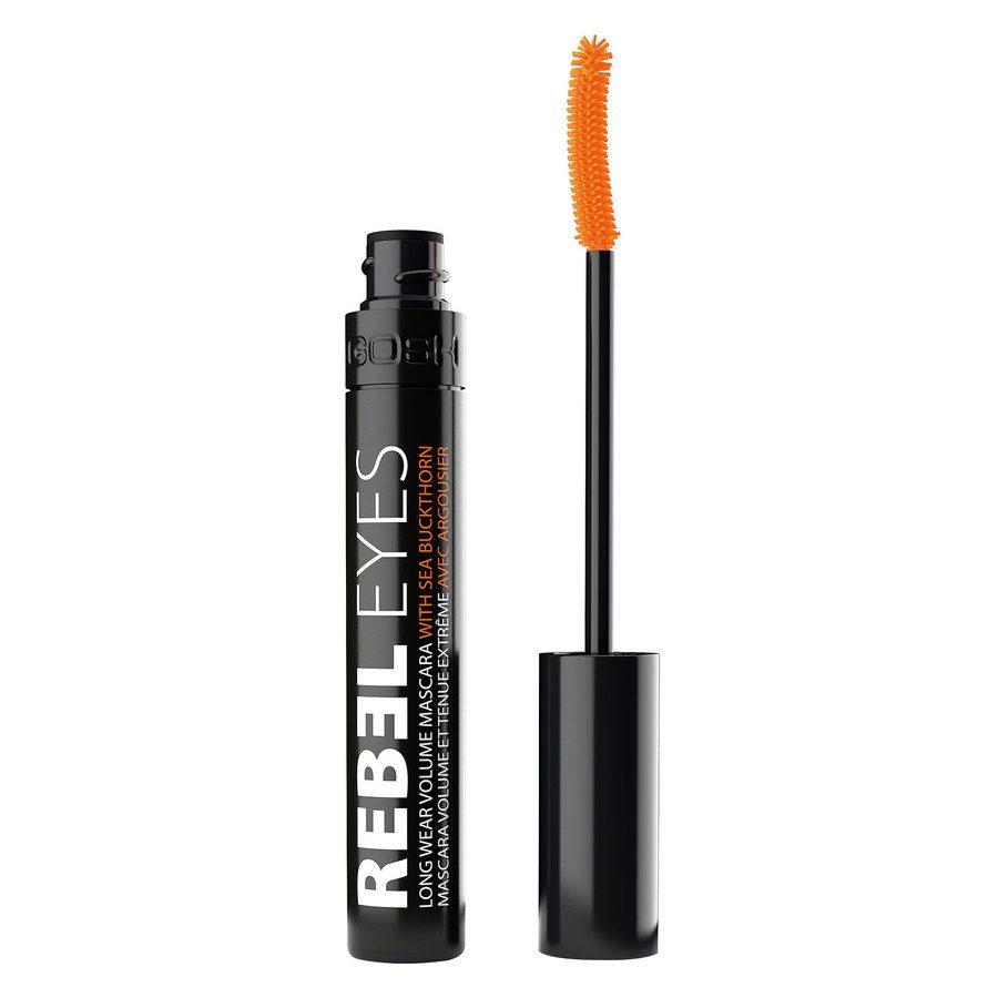GOSH Rebel Eyes Mascara (9 ml), #001 Black