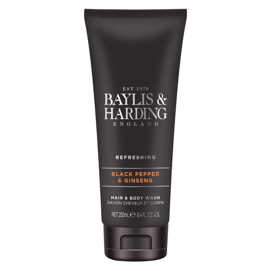 Baylis & Harding Signature Black Pepper & Ginseng Hair & Body Wash (250 ml)