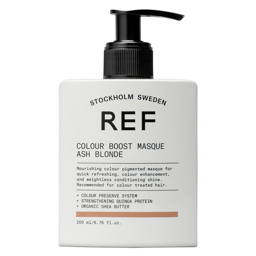 REF Colour Boost Masque Ash Blonde (200 ml)