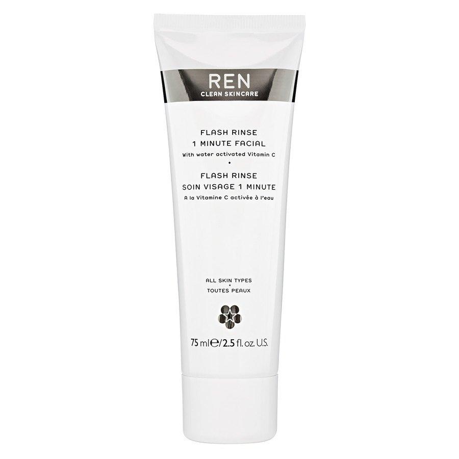 REN Clean Skincare Flash Rinse 1 Minute Facial (75 ml)