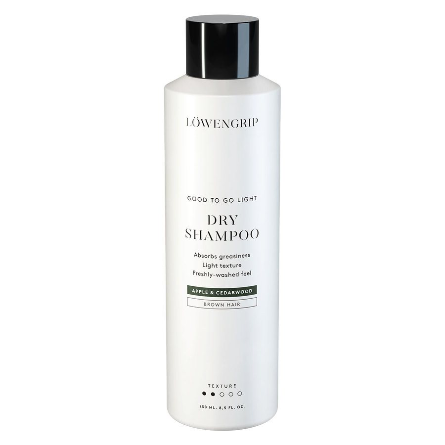 Löwengrip Good To Go Dry Shampoo For Brown Hair Apple & Cedarwood (250 ml)