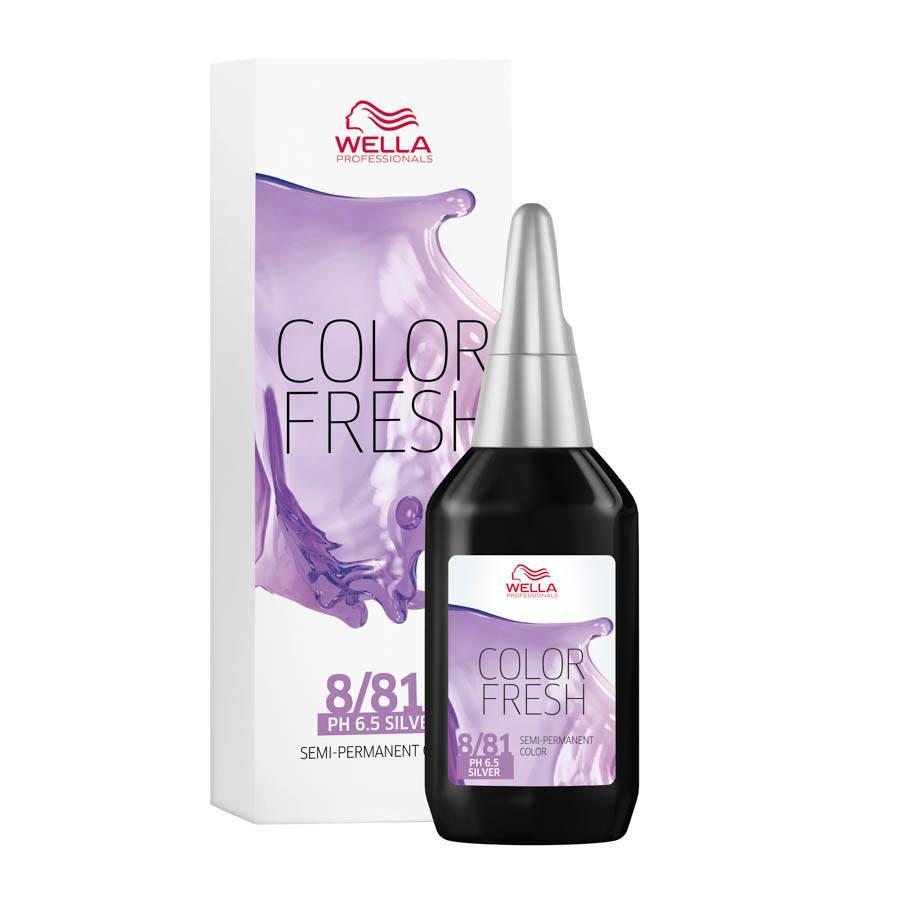 Wella Professionals Color Fresh, 8/81 Light Blonde Pearl Ash (75 ml)
