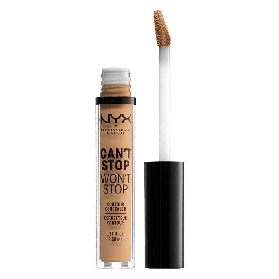 NYX Professional Makeup Can't Stop Won't Stop Contour Concealer (3,5 ml), Soft Beige