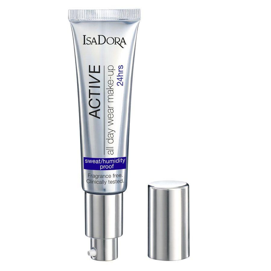 IsaDora Active All Day Wear Makeup, 12 Light Honey (35 ml)