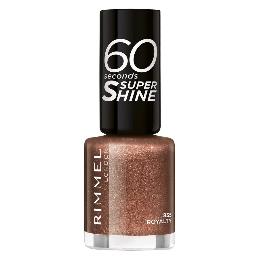 Rimmel London 60 Seconds Super Shine (8 ml), 835 Royalty