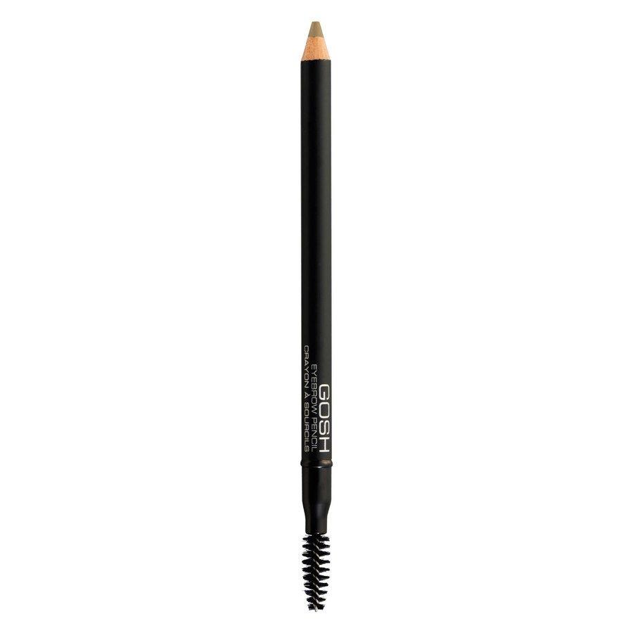 GOSH Eye Brow Pencil (1,2 g), #003 Greybrown