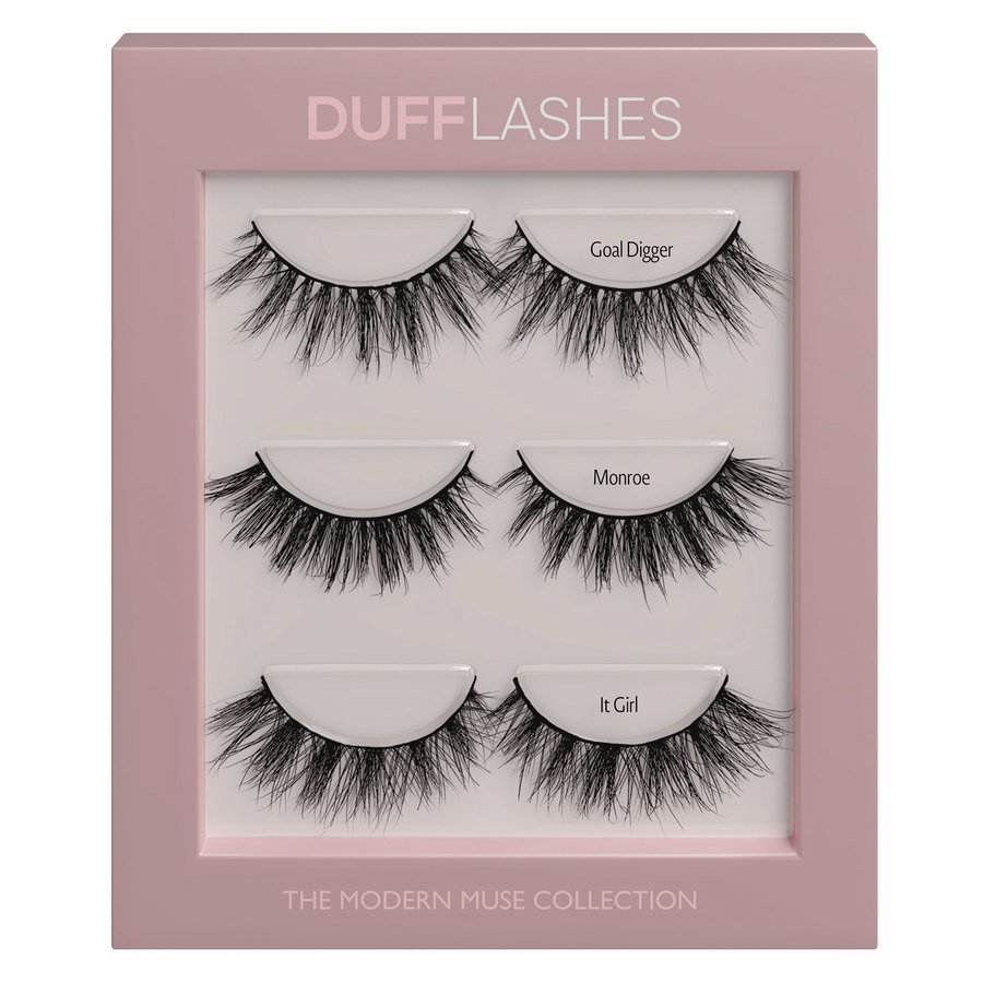 DUFFBeauty The Modern Muse Collection 3 pary