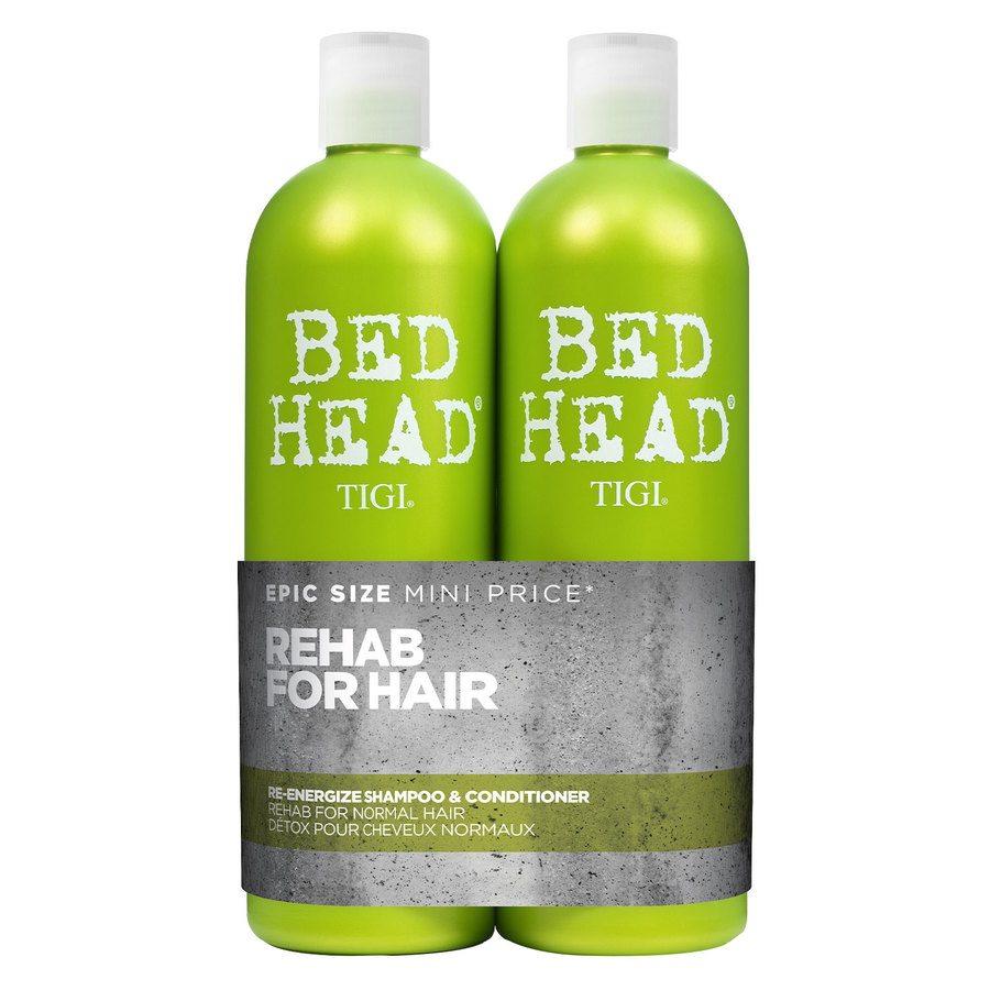 TIGI Bed Head Urban Antidotes Re-Energize Szampon & Balsam (2 x 750 ml)