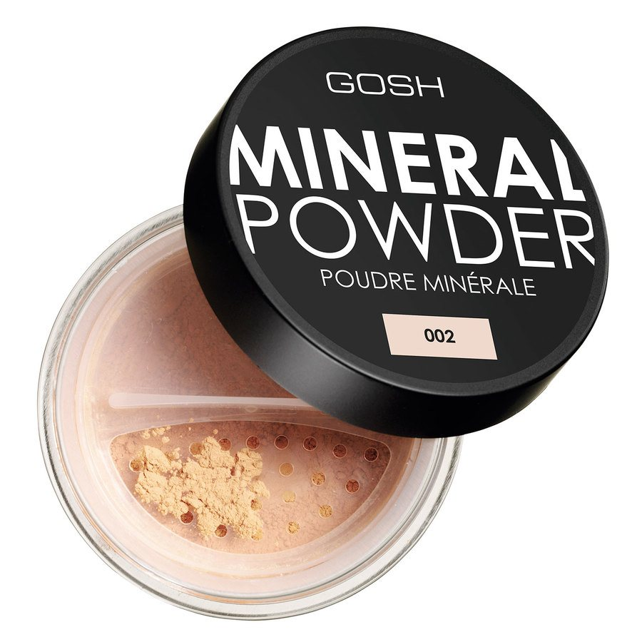 GOSH Mineral Powder (8 g), #002 Ivory