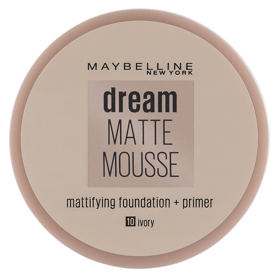 Maybelline Dream Matte Mousse 10 Ivory (18 ml)
