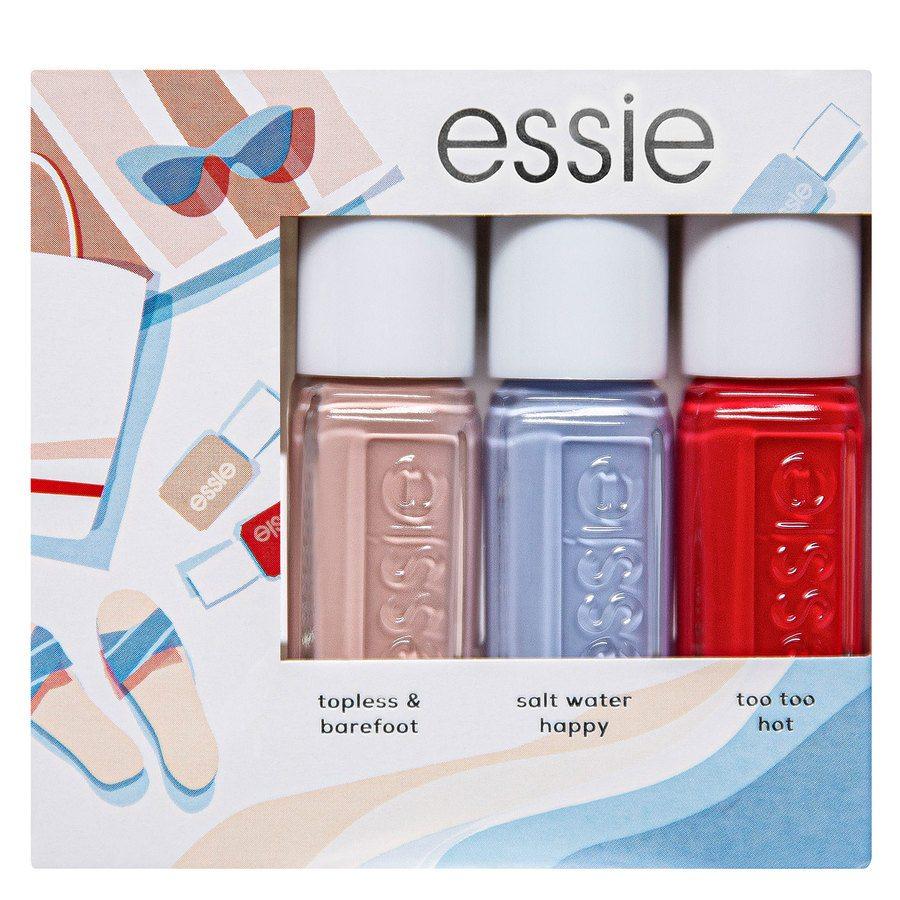 Essie Trio Mini Summer Kit # 1 (3 x 5 ml)