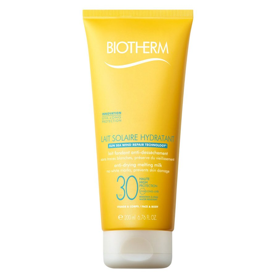 Biotherm Lait Solaire Hydrantant Anti-Drying Melting Milk Sunscreen SPF30 (200ml)