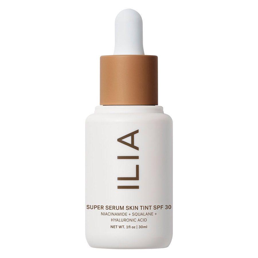 Ilia Super Serum Skin Tint Broad Spectrum SPF 30 30 ml ─ Kokkini (Średni ciemny o neutralnych odcieniach)