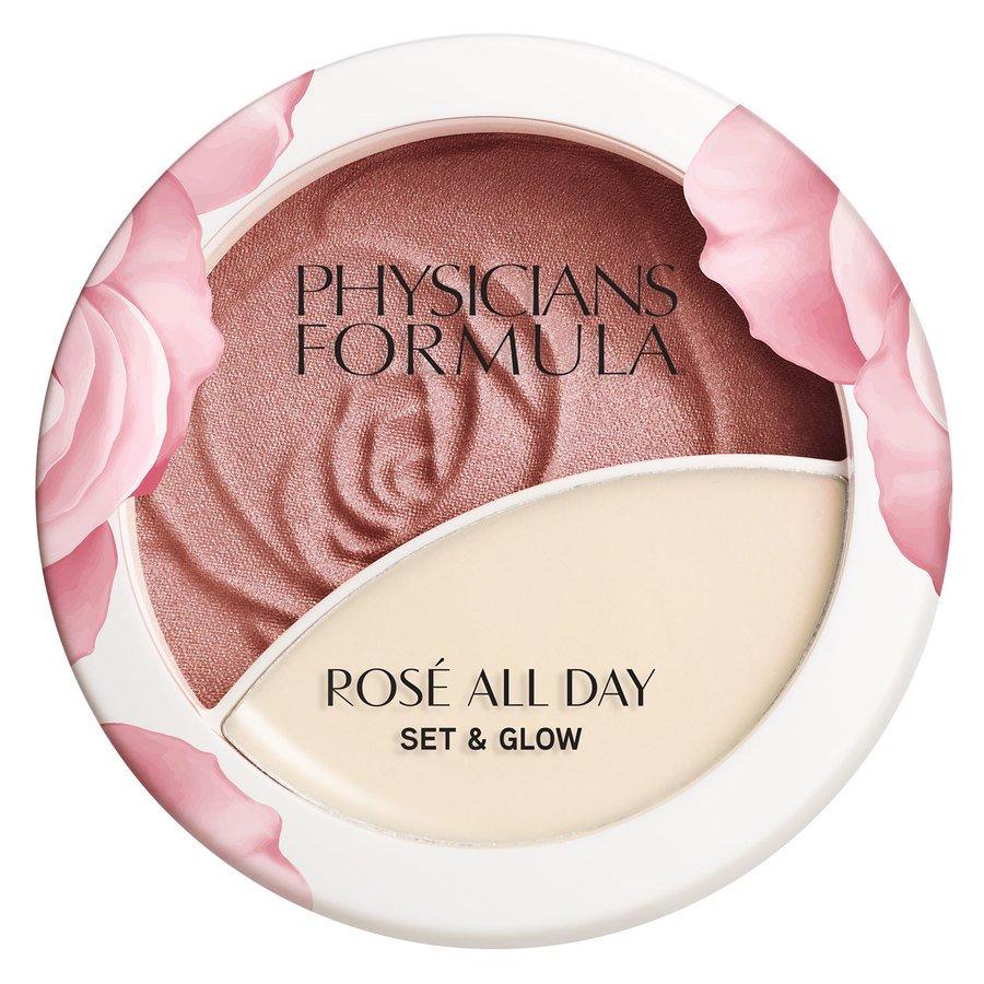 Physicians Formula Rosé All Day Set & Glow Powder (10,2 g) ─ Brigtening Rose