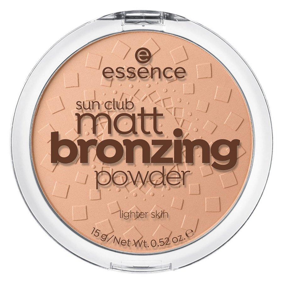 essence Sun Club Matt Bronzing Powder 15 g ─ 01