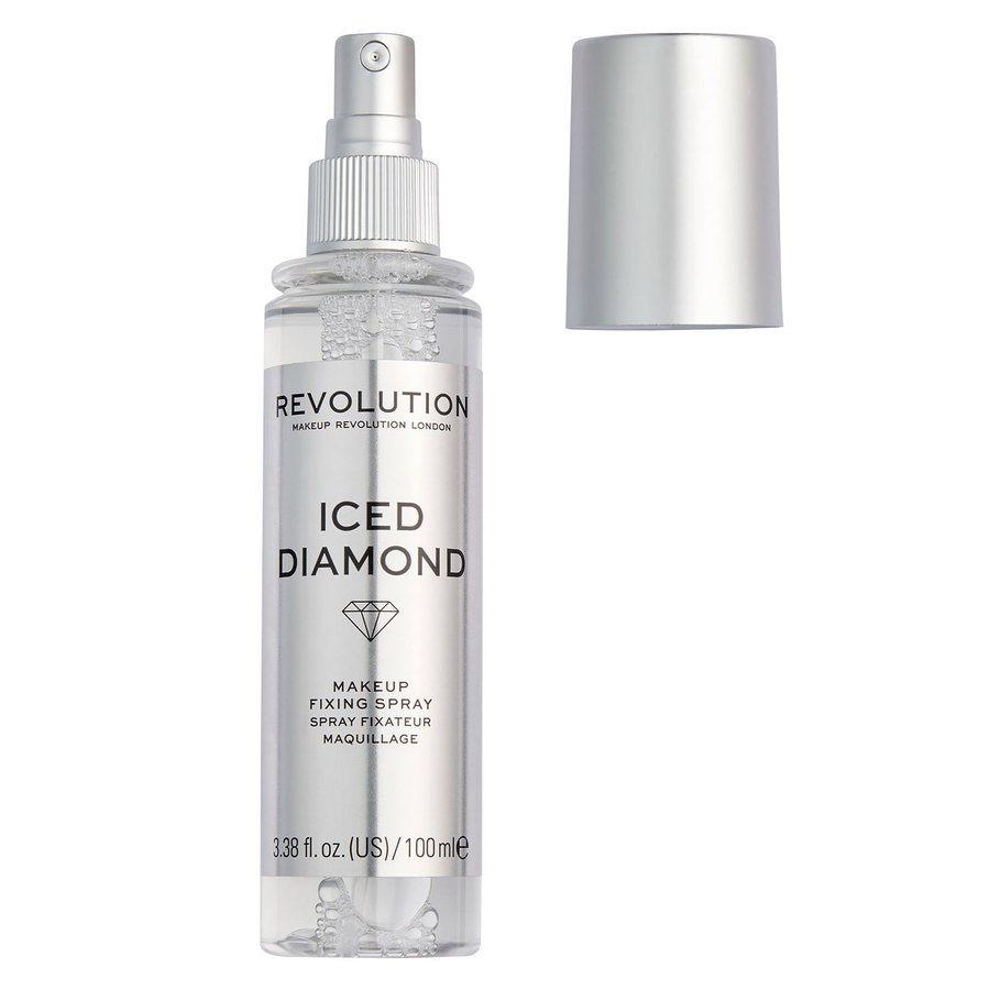 Makeup Revolution Precious Stone Fixing Spray Iced Diamond (100 ml)