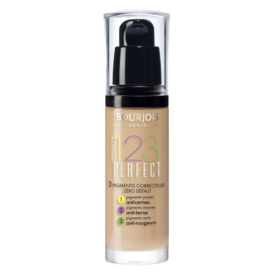Bourjois 1,2,3 Perfect Foundation 53 Light Beige (30 ml)