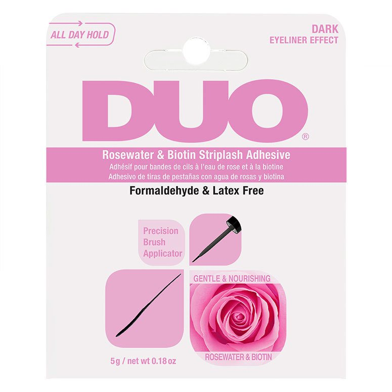Ardell Duo Biotin Rose Striplash Adhesive Dark 5g