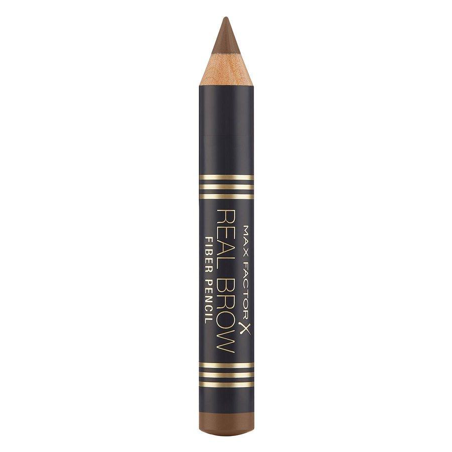 Max Factor Real Brow Fiber Pencil (1.83 g) – 001 Light Brown