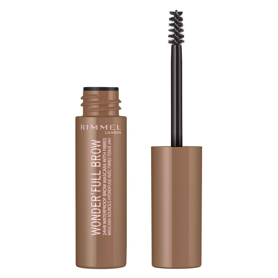 Rimmel London Eye Wonder'Full Brow Mascara (5 ml), 24H # 001 Light