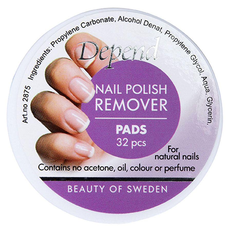 Depend Nail Polish Remover Pads (32 szt.)