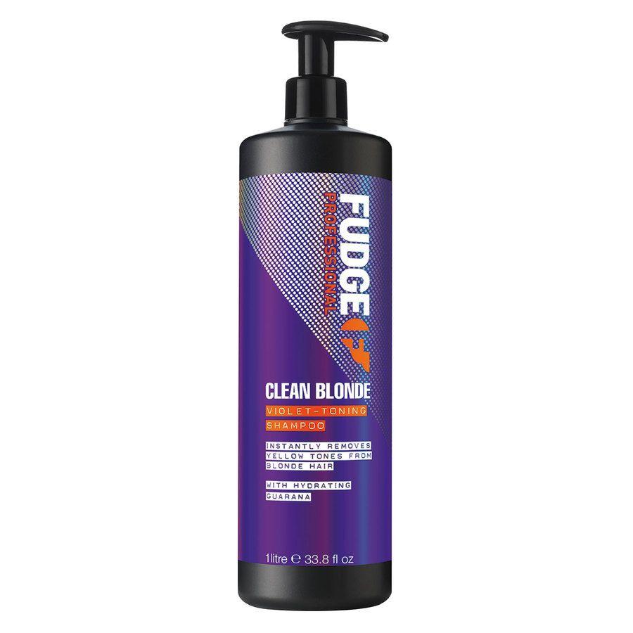 Fudge Clean Blonde Violet Toning Szampon (1000 ml)