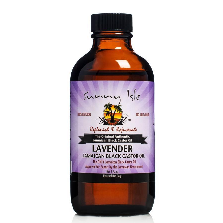 Castor Oil (118 ml). Sunny Isle Lavender Jamaican Black.