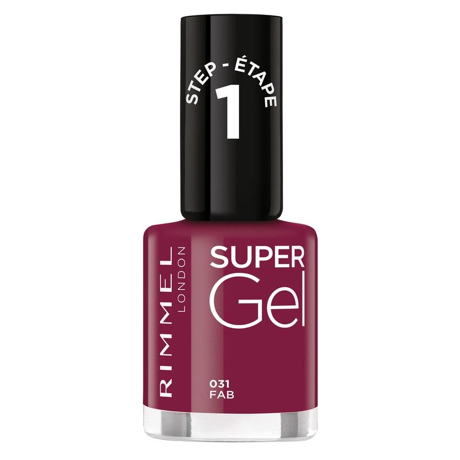 Rimmel London Super Gel Nail Polish (12ml), 031