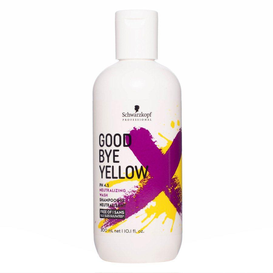 Schwarzkopf Goodbye Yellow Neutralizing Wash Szampon (300 ml)