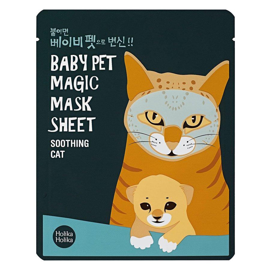 Holika Holika Baby Pet Magic Mask Sheet Soothing Cat (22 ml)