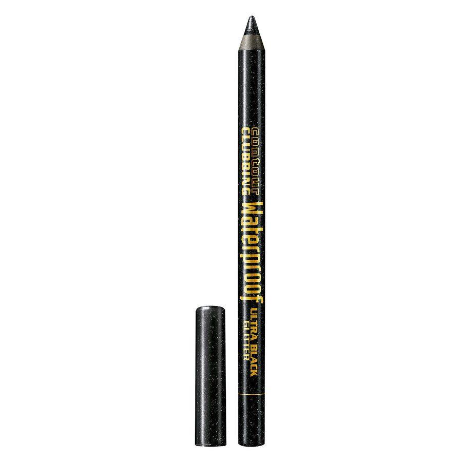 Bourjois Contour Clubbing Waterproof Pencil & Liner 55 Ultra Black Glitter (1,2 g)