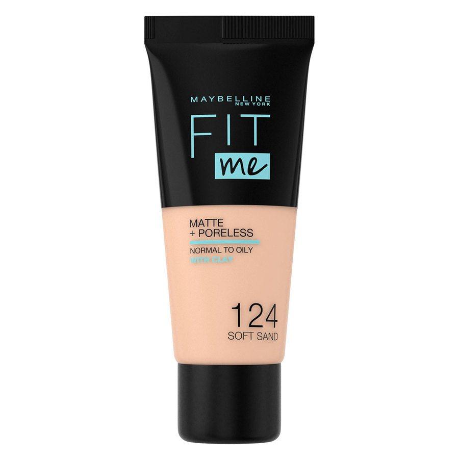 Maybelline Fit Me Makeup Matte + Poreless Foundation, 124 (tubka 30 ml)