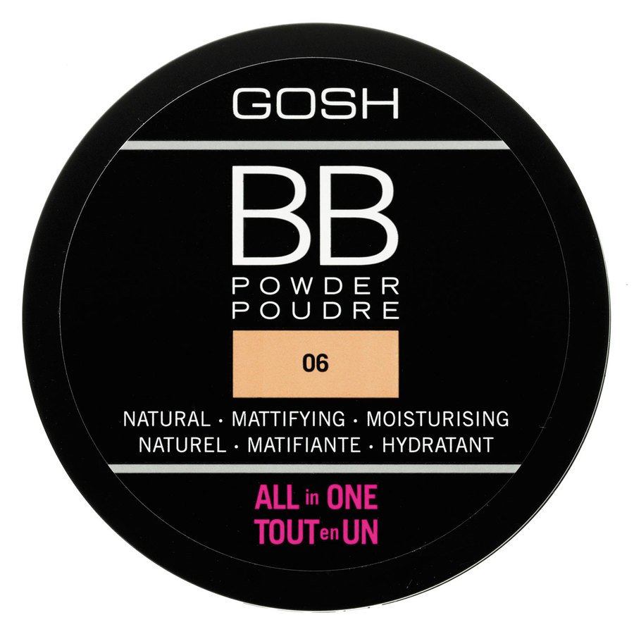 GOSH BB Powder (6,5 g), #006 Warm Beige