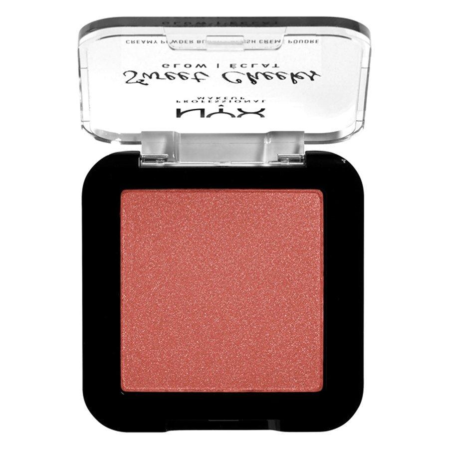 NYX Professional Makeup Sweet Cheeks Creamy Powder Blush Glow, Summer Breeze (5 g)