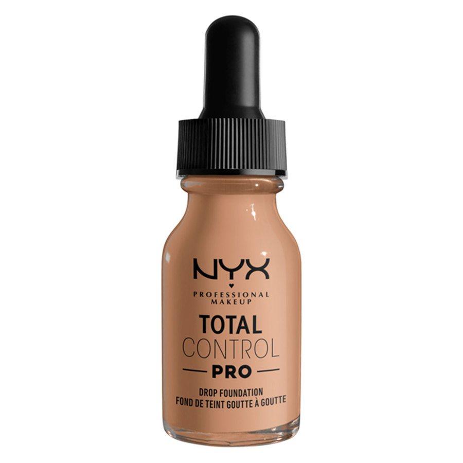 NYX Professional Makeup Total Control Pro Drop Foundation 13ml, Medium Buff