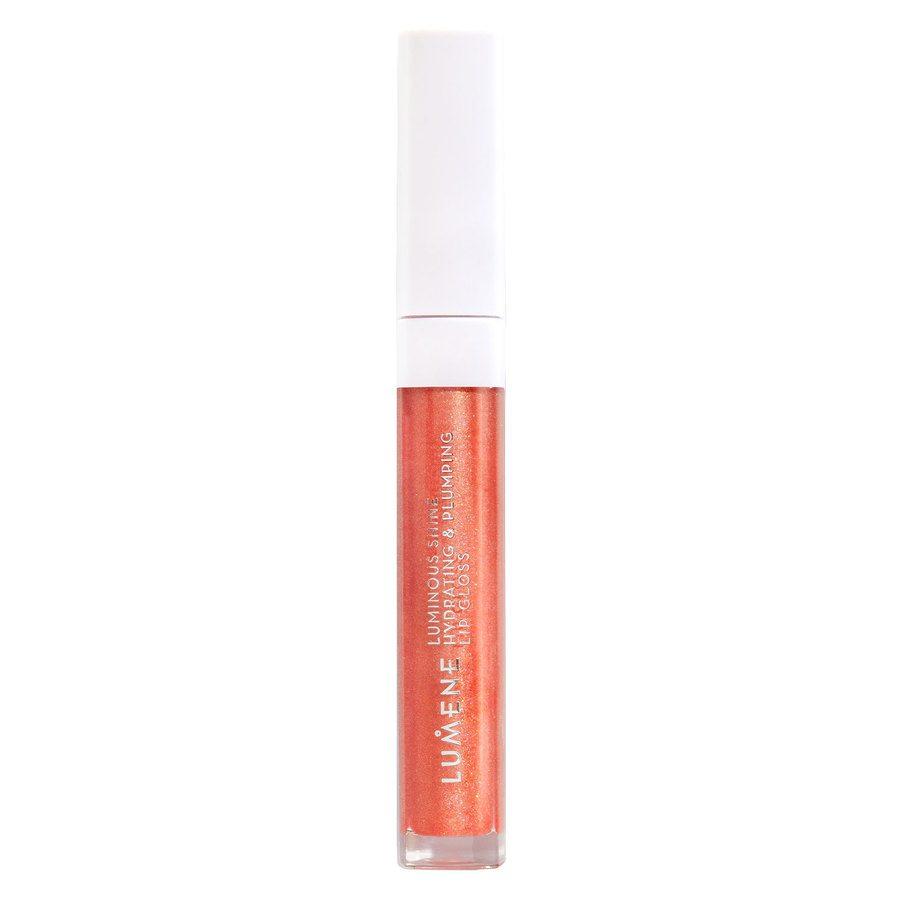 Lumene Luminous Shine Hydrating & Plumping Lip Gloss, 3 Fresh Peach 5ml
