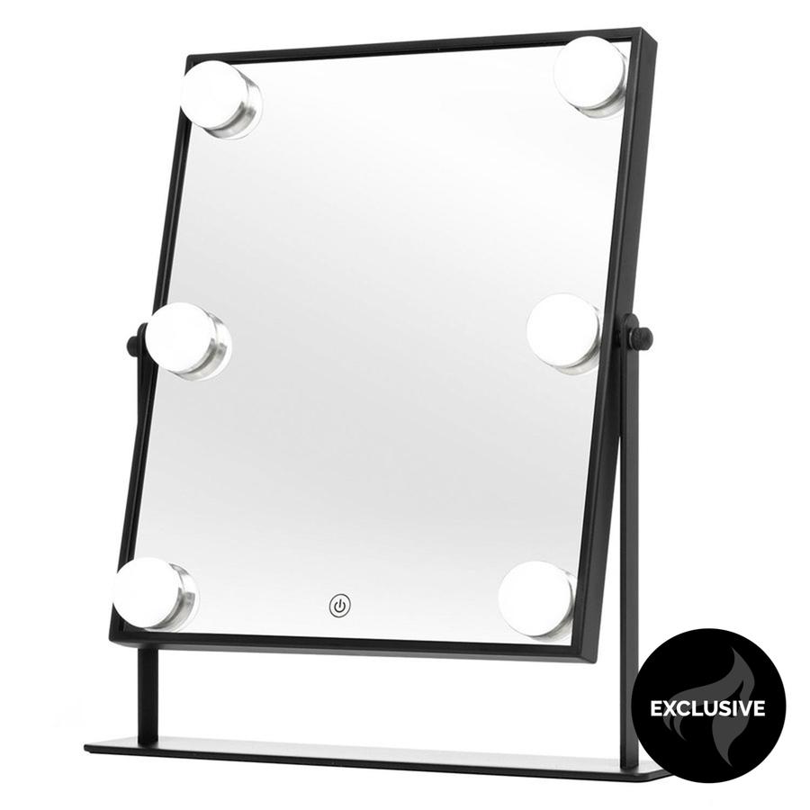 Shelas 6 LED Hollywood Lustro (250 x 350 mm), Black
