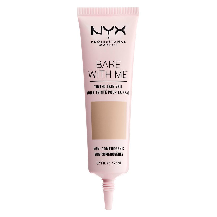 NYX Professional Makeup Bare With Me Tinted Skin Veil (27ml), True Beige Buff