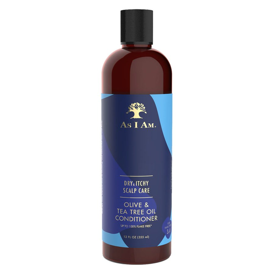 As I Am Dry & Itchy Scalp Care Olive & Tea Tree Oil Conditioner 355 ml