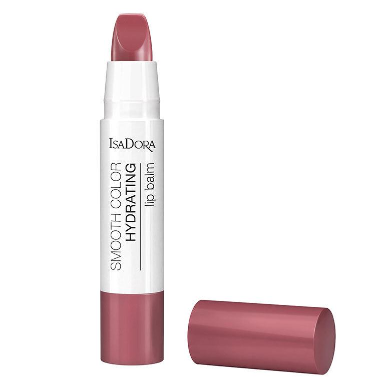 IsaDora Smooth Color Hydrating Lip Balm 3,3g, 56 Soft Pink