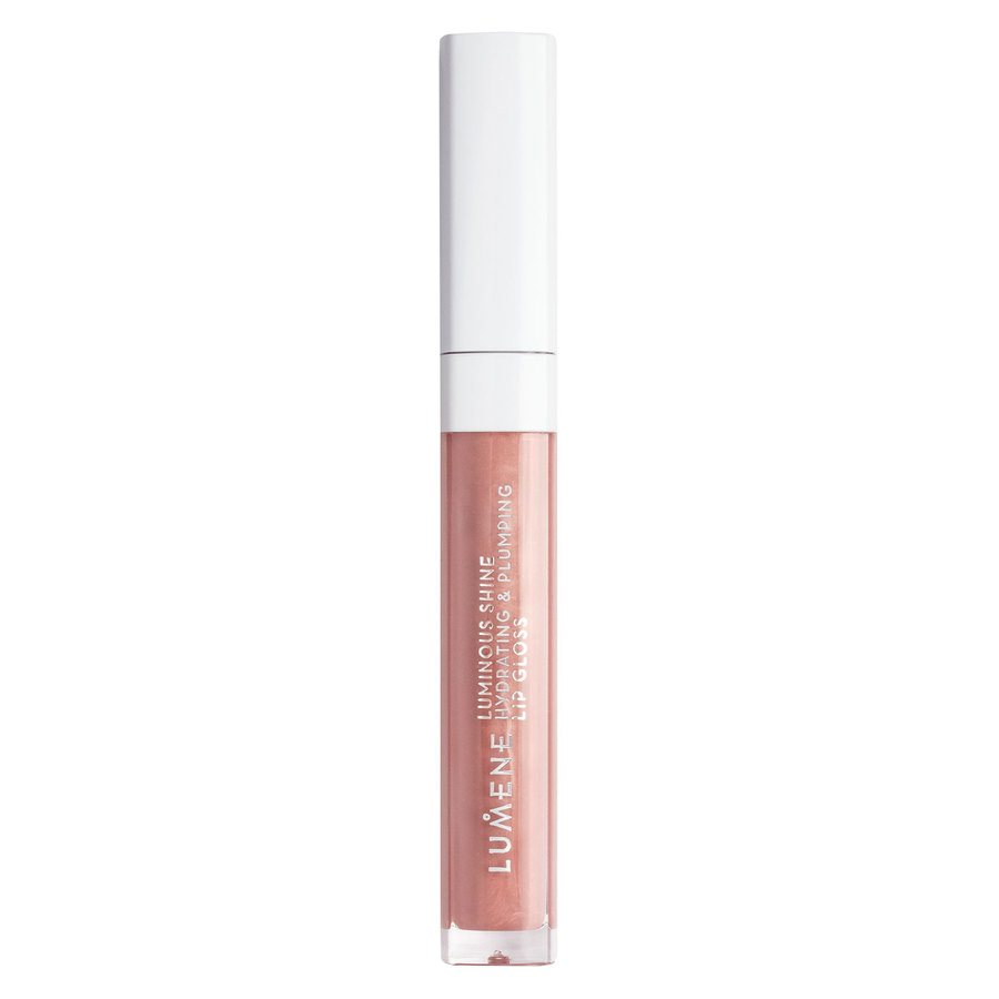 Lumene Luminous Shine Hydrating & Plumping Lip Gloss, 11 Old Rose 5ml