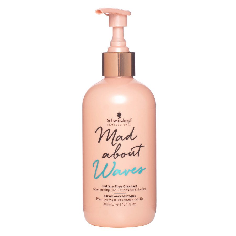 Schwarzkopf Mad About Waves Sulfate Free Cleanser (300 ml)