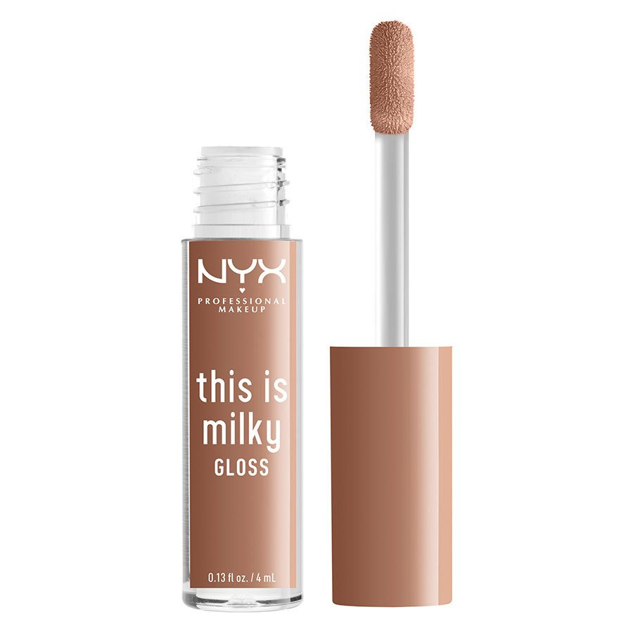 NYX Professional Makeup This Is Milky Gloss Lip Gloss 4ml, Cookies & Milk