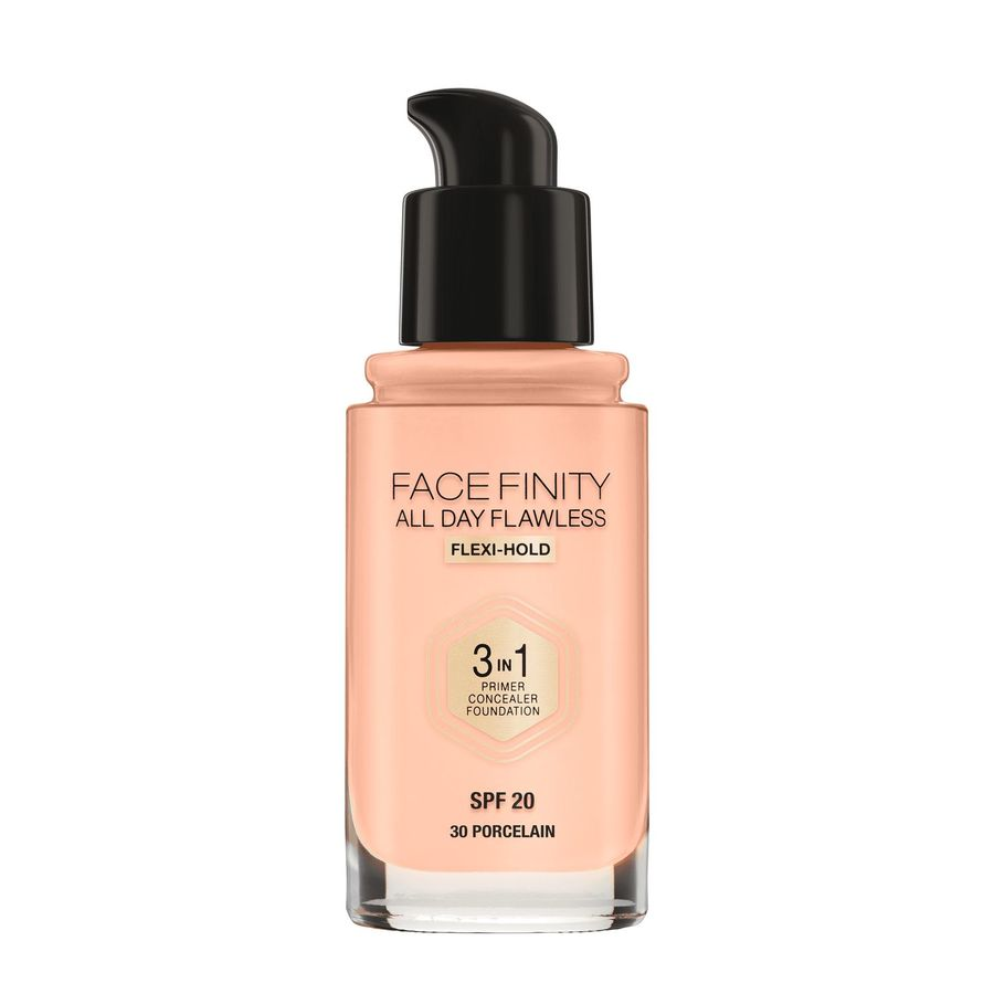Max Factor Facefinity 3 In 1 Foundation (30 ml), 30 Porcelain