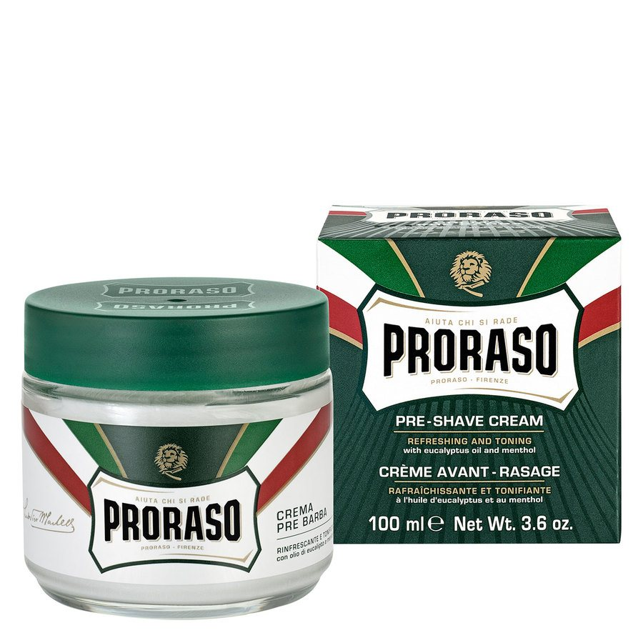 Proraso Pre-Shave Cream Eucalyptus And Menthol (100 ml)