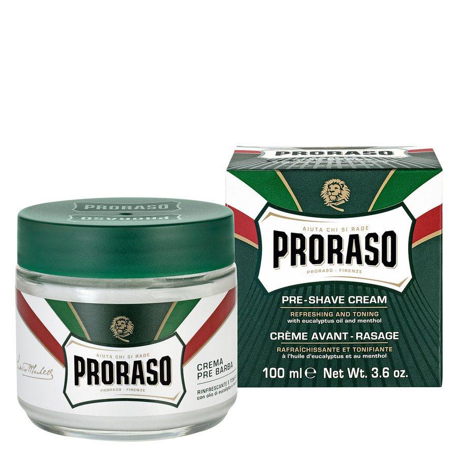Proraso Pre-Shave Cream Eucalyptus And Menthol (100ml)