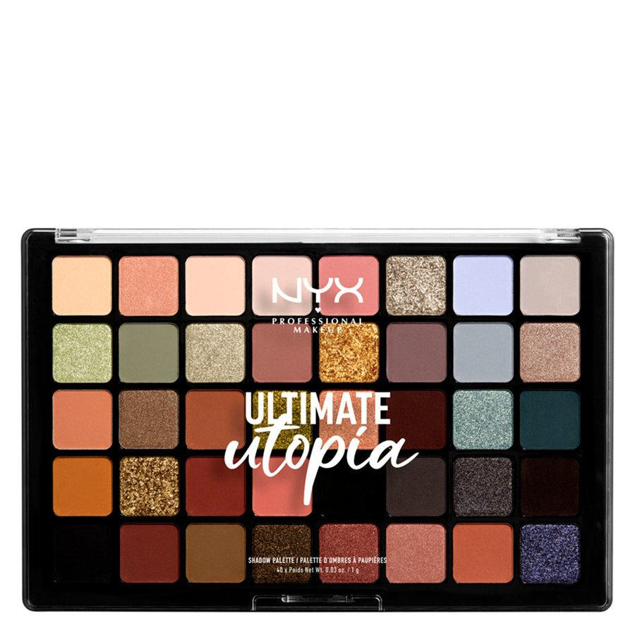 NYX Professional Makeup Ultimate Utopia Shadow Palette (40 x 1g)
