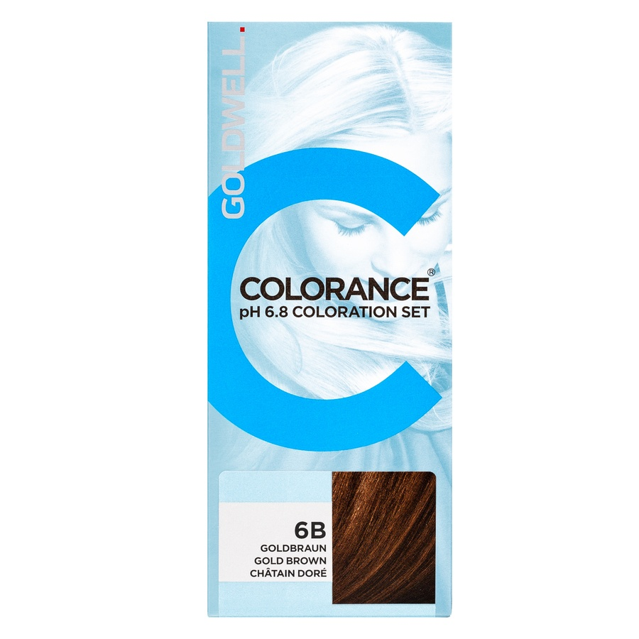 Goldwell Colorance pH 6.8 Coloration Set 6B (90 ml), Gold Brown