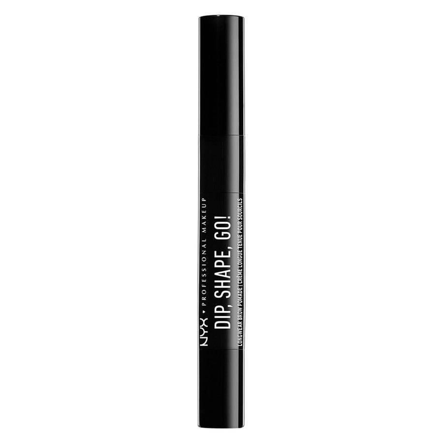 NYX Professional Makeup Dip Shape Go Longwear Brow Black (1,2 g)